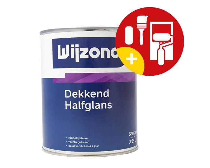 Wijzonol Dekkend Halfglans 2,5 Liter