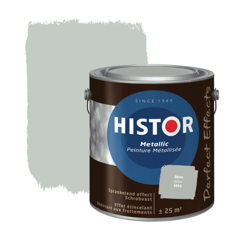 Histor Perfect Effect Muurverf Metallic Beton 2,5 Liter