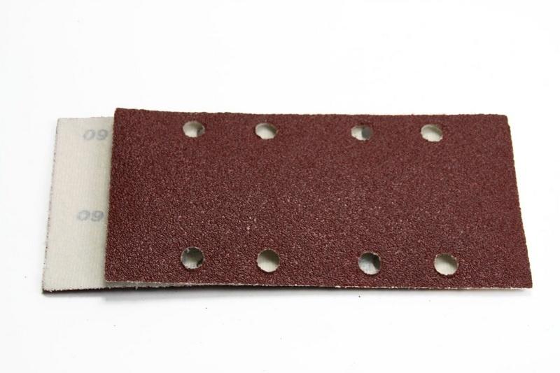 Veba Klittenband Schuurpapier Schuurstrook 93x185 mm 8 gaten