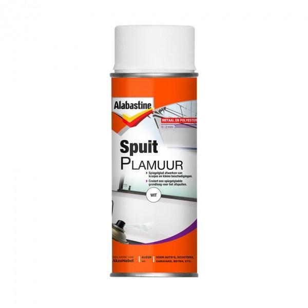 Alabastine Spuitplamuur Wit 400 ml