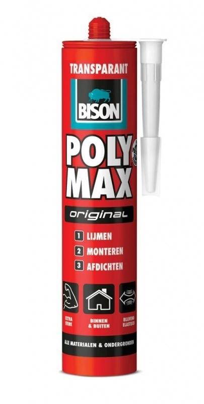 Bison Polymax Original Transparant 425 gram
