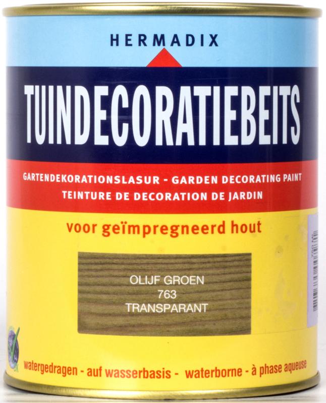 Hermadix Tuindecoratiebeits 763 Olijf Groen 3x 750 ml