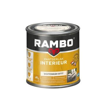 Rambo Pantserlak Interieur Whitewash 0777 ZIJDEGLANS 250 ml