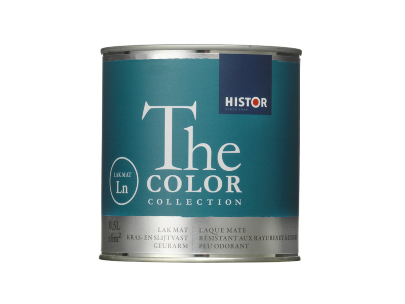 Histor The Color Lak MAT Waterbasis 500 ml