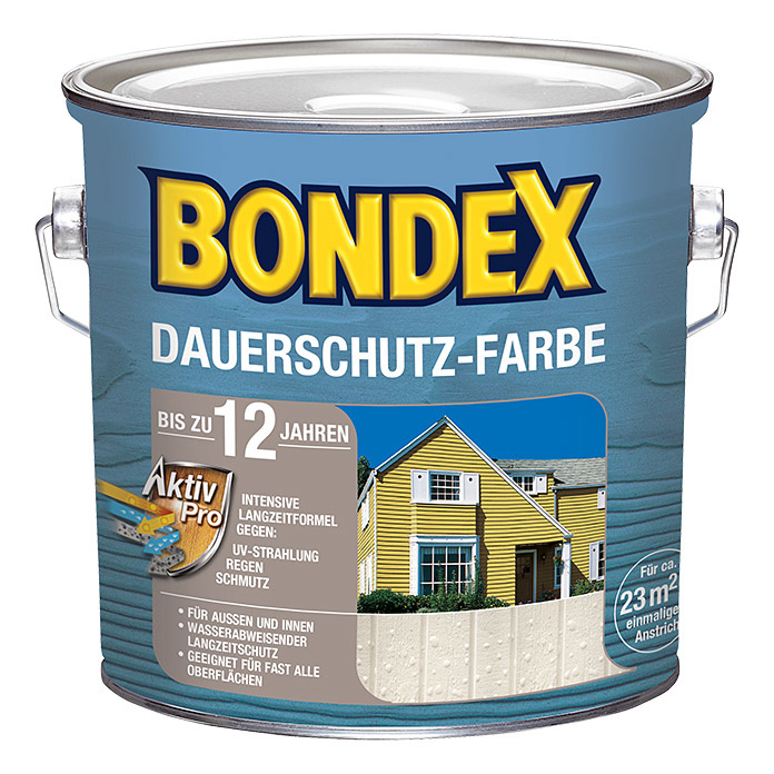 Bondex Dauerschutz Farbe Ozeanblau 750 ml