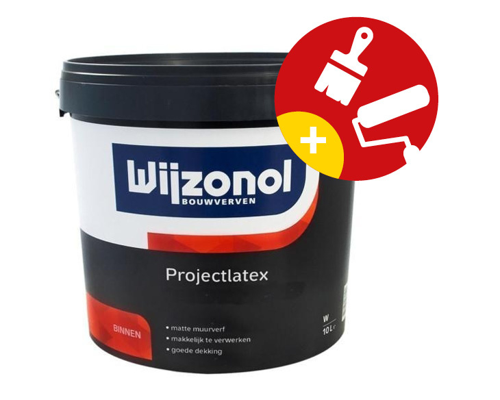 Wijzonol Projectlatex Mat 10 Liter