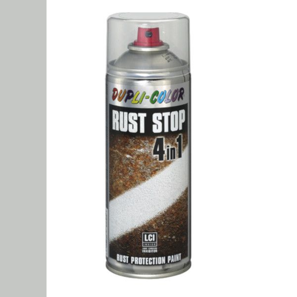 Dupli Color Rust Stop 4 in 1 Satin Matt RAL 7035 Lichtgrijs 400 ml