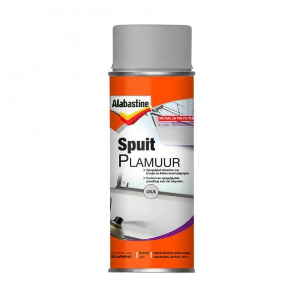 Alabastine Spuitplamuur Grijs 400 ml