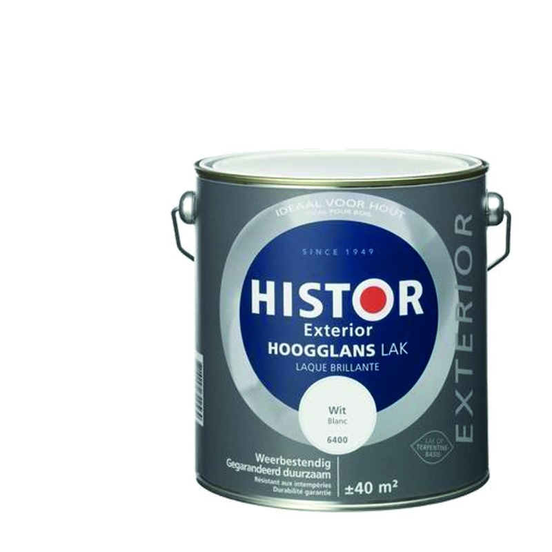 Histor Exterior Lak Hoogglans 1 Liter
