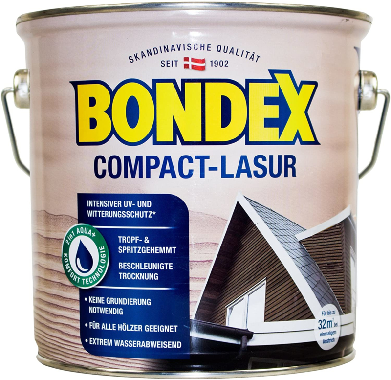 Bondex Compact Lasur 729 Teak 2,5 Liter