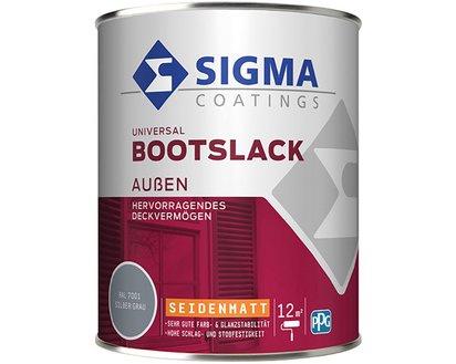 Sigma Bootslack RAL 8011 Nussbraun Seidenmatt 750 ml