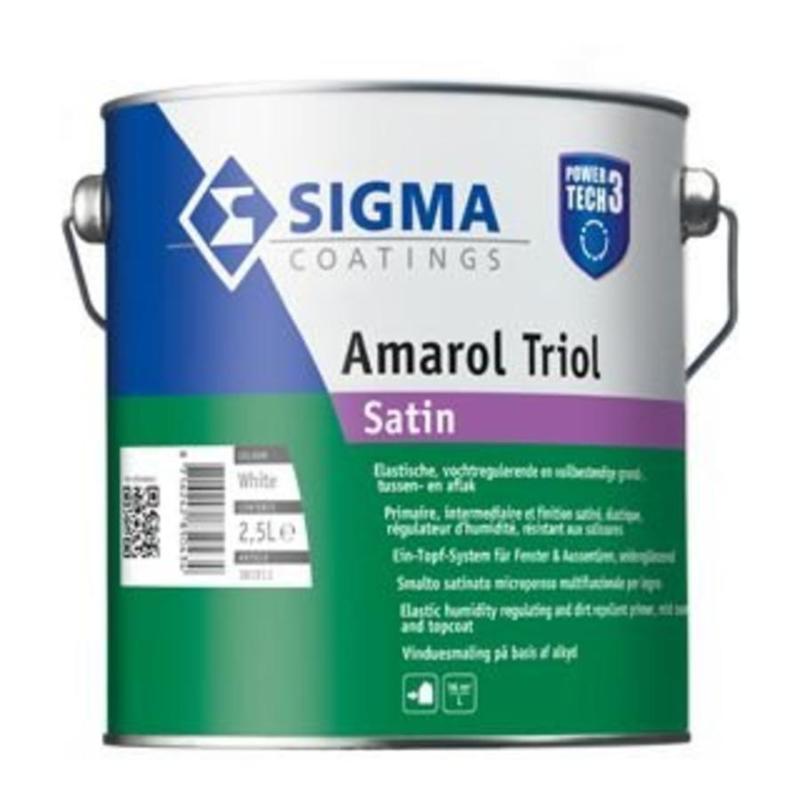Sigma Amarol Triol Schakelverf Satin 1 Liter