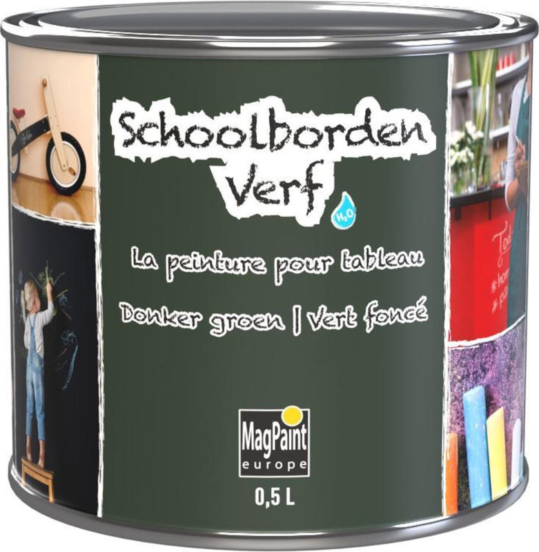MagPaint Schoolbordenverf Groen 500 ml