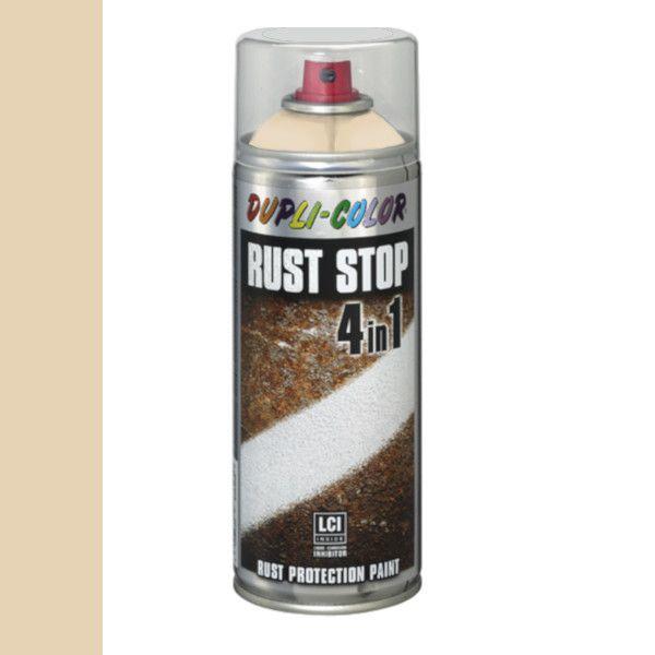 Dupli Color Rust Stop 4 in 1 Satin Matt RAL 1015 Ivoorwit 400 ml