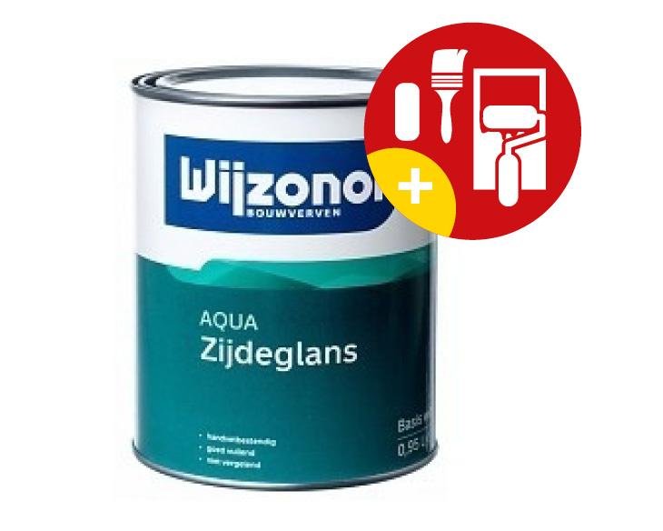 Wijzonol Aqua Zijdeglans 2,5 Liter