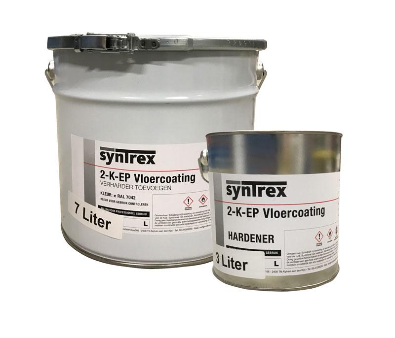 Syntrex 2K Epoxy Vloercoating Lichtgrijs RAL 7035 10 Liter