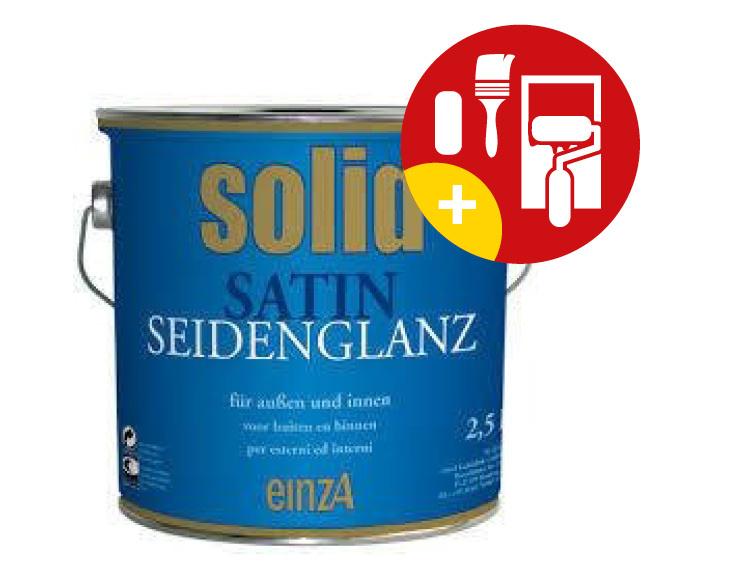 EinzA Solid Satin Zijdeglanslak 1 Liter