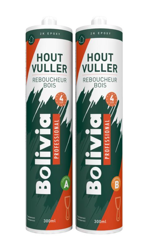 Bolivia 2K Epoxy Houtvuller 4 uur 2x 300 ml