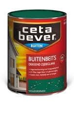Cetabever Buitenbeits Dekkend Robijnrood 406 750 ml