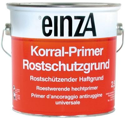 einzA Korral-Primer Roestwerende Hechtprimer  Wit 2,5 Liter