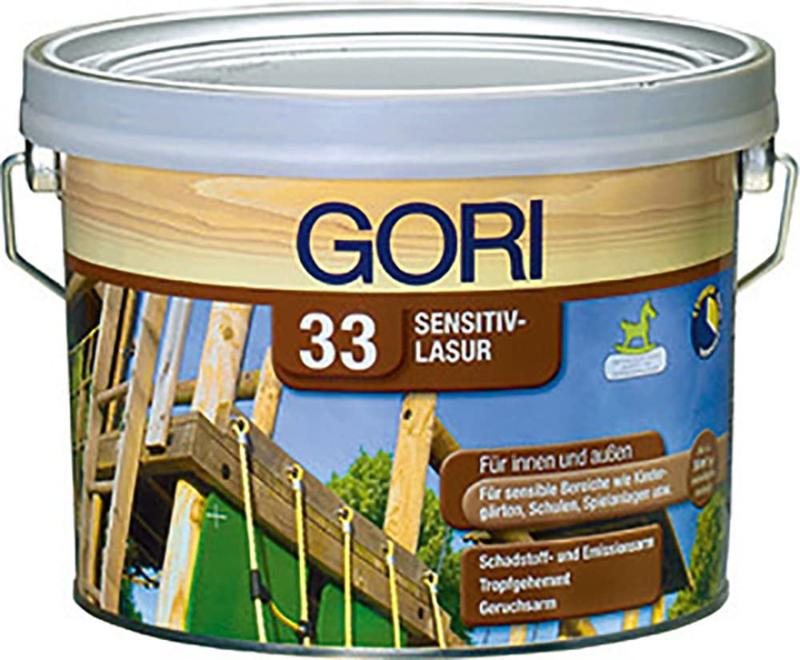 Gori 33 Sensitiv-Lasur 7801 Licht eiken 2,5 Liter
