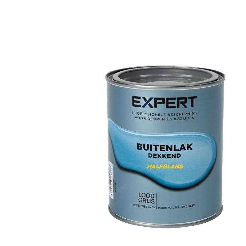 Expert Buitenlak Dekkend Halfglans Ral 5004 750 ml