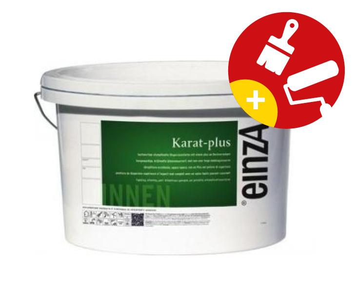 einzA Karat Plus Schrobvaste Muurverf Krijtmat 10 Liter