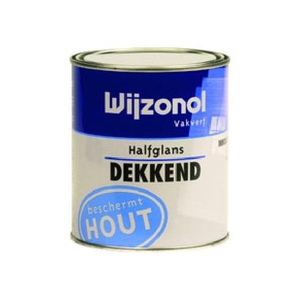 Wijzonol Dekkend Halfglans 9326 Zachtgroen 750 ml