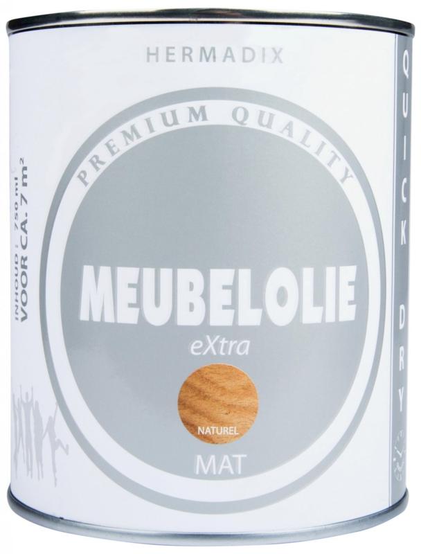 Hermadix Meubelolie eXtra Naturel Mat 750 ml