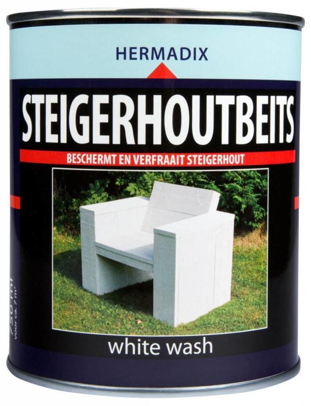 Hermadix Steigerhoutsbeits Alle kleuren 750 ml