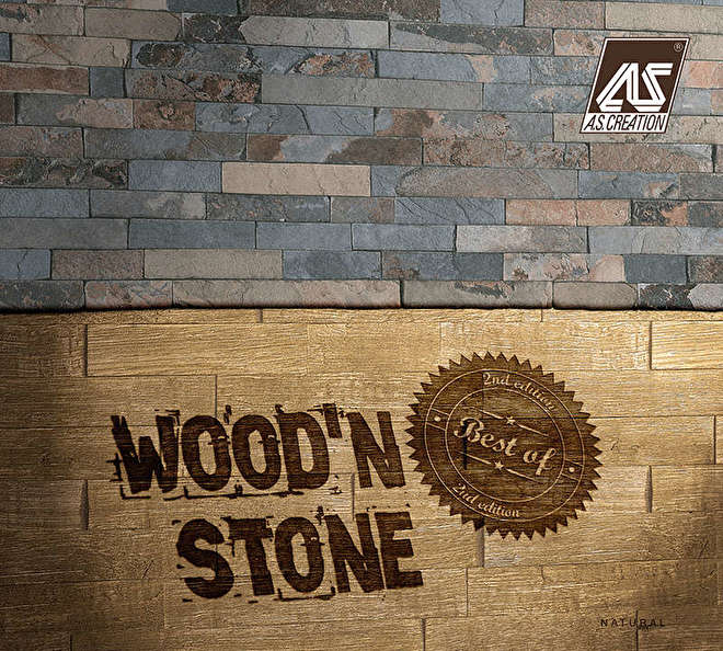 AS Creation Best of wood 'n Stone