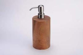 Fair trade houten zeepdispenser