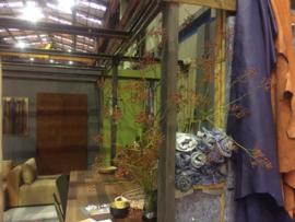 Ontwerp, realisatie en styling, Wonen & Werken plein Duurzame Woonbeurs