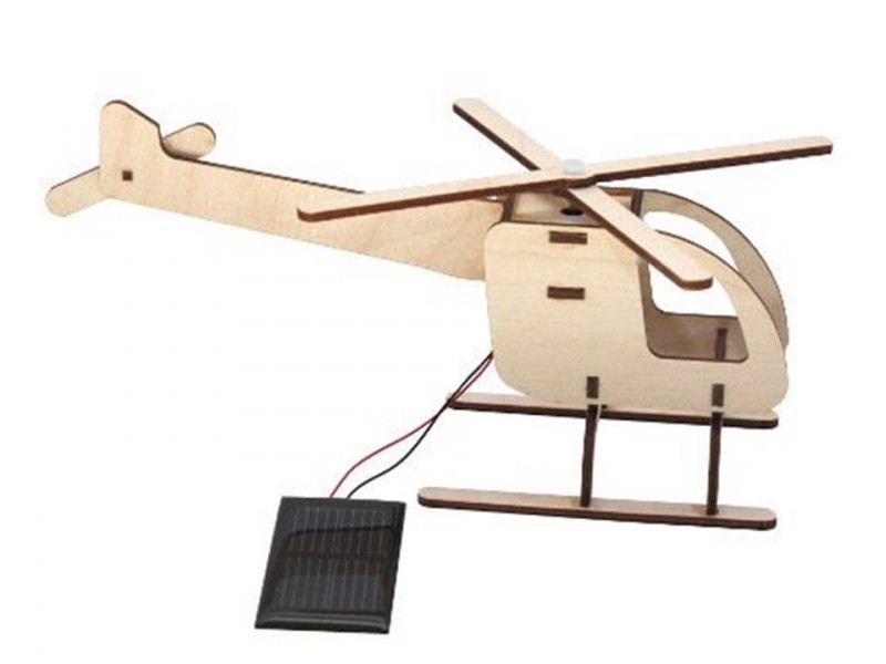 Zonne-helikopter bouwpakket