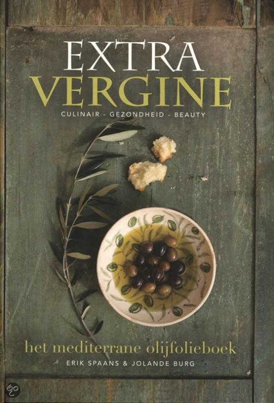 Het mediterrane olijfolieboek  `Extra Vergine`