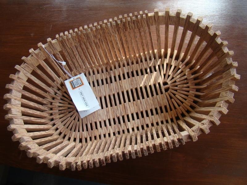 Fair Trade schaal van palmhout