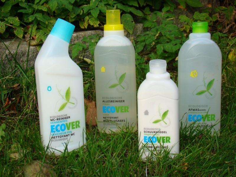 Set schoonmaakmiddelen van Ecover