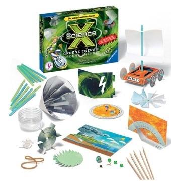 Science X - Groene Energie  Experimenteerdoos