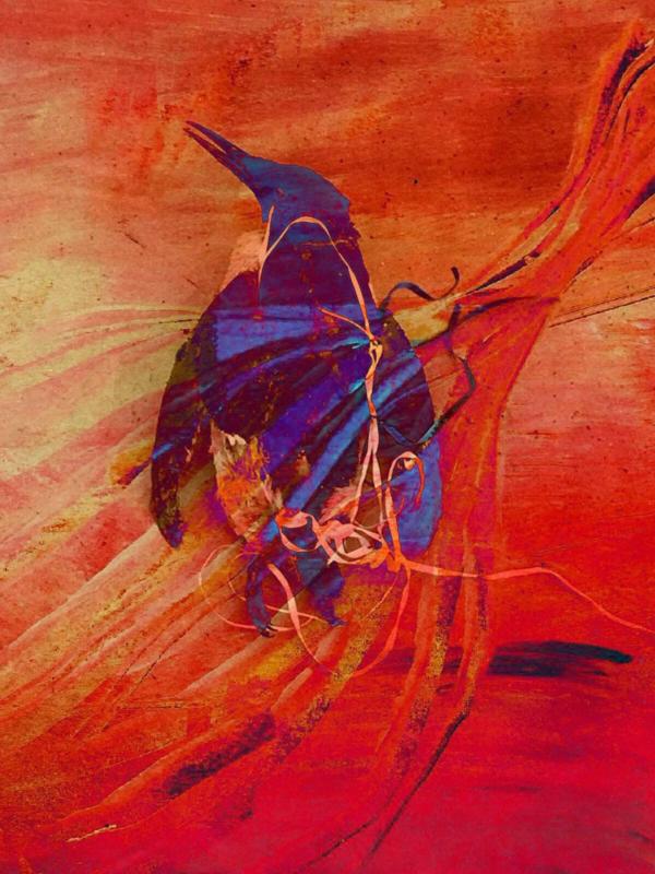 Verraden door de zee; kunstwerk Charlotte Meijer