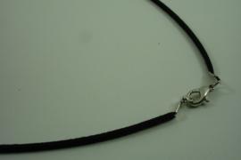 [ 1391 ] Veter Ketting 52 cm. Zwart, per stuk
