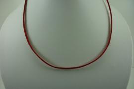 [ 1400 ] Veter Ketting  46 cm. Rood