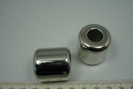 [5507 ] Groot gat kraal 30 x 27 mm. Glad, per stuk