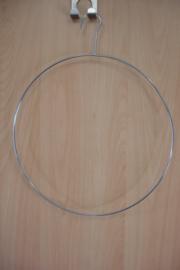 *[ 8669 ] Ring 30 cm. Ring metaal met vaste ophang haak.