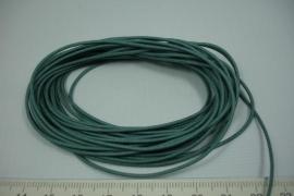 [8111 ] Waskoord 1.3 mm. Mos Groen, 5 meter