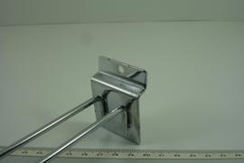 *[ 9247 ] Slotwall Haken 20 cm. 10 stuks