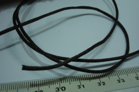 [ 5912 ] Waskoord 1.8 mm. Mokka bruin, 5 meter