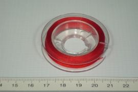 [8009] Pareldraad  0.2 mm, Rood.