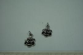 [0649 ] Roosje Metaal, 10 mm. , per stuk