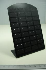 * [ 9222 ] 36 paar Oorbelstekers standaard, Zwart