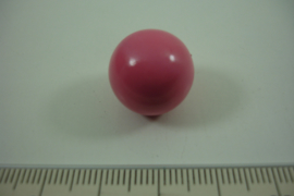 [ 0910 ] Klank bal 16 mm. Oud Rose.
